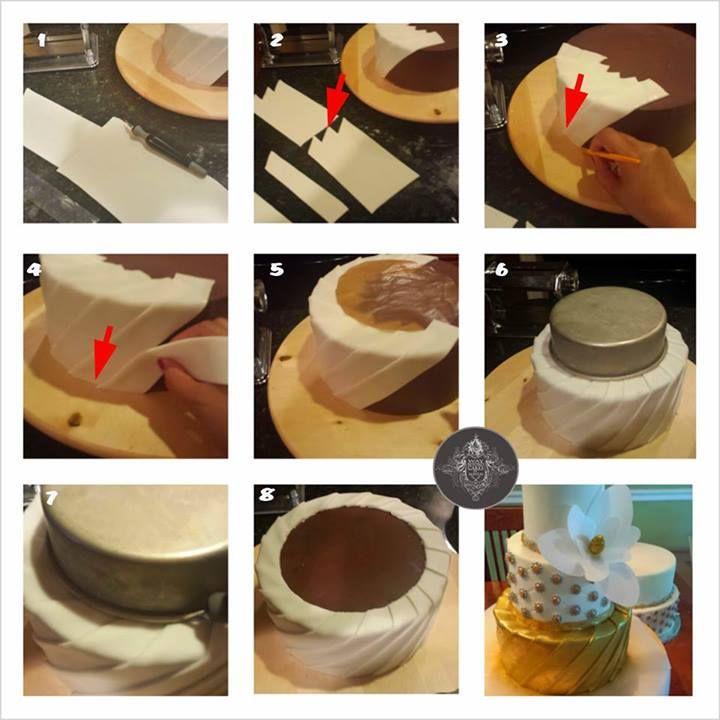 How To Make Topsy Turvy Cake Step By Step