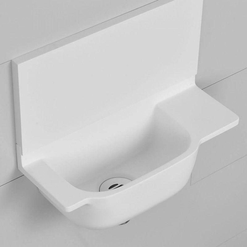 Lave Mains Ello Droit Un Lavabo Lave Mains De Petites Dimensions 36 X 15 Cm Parfait Pour Les Petits Espaces Avec Images Lave Main Petit Lave Main Lave