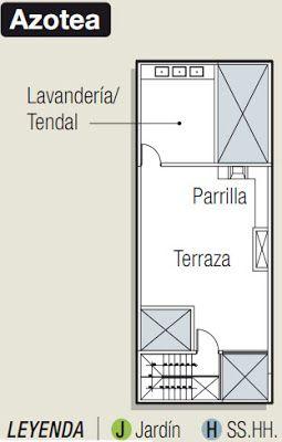 Planos para construir departamentos en 90 m2 via www for Construir casa precio m2