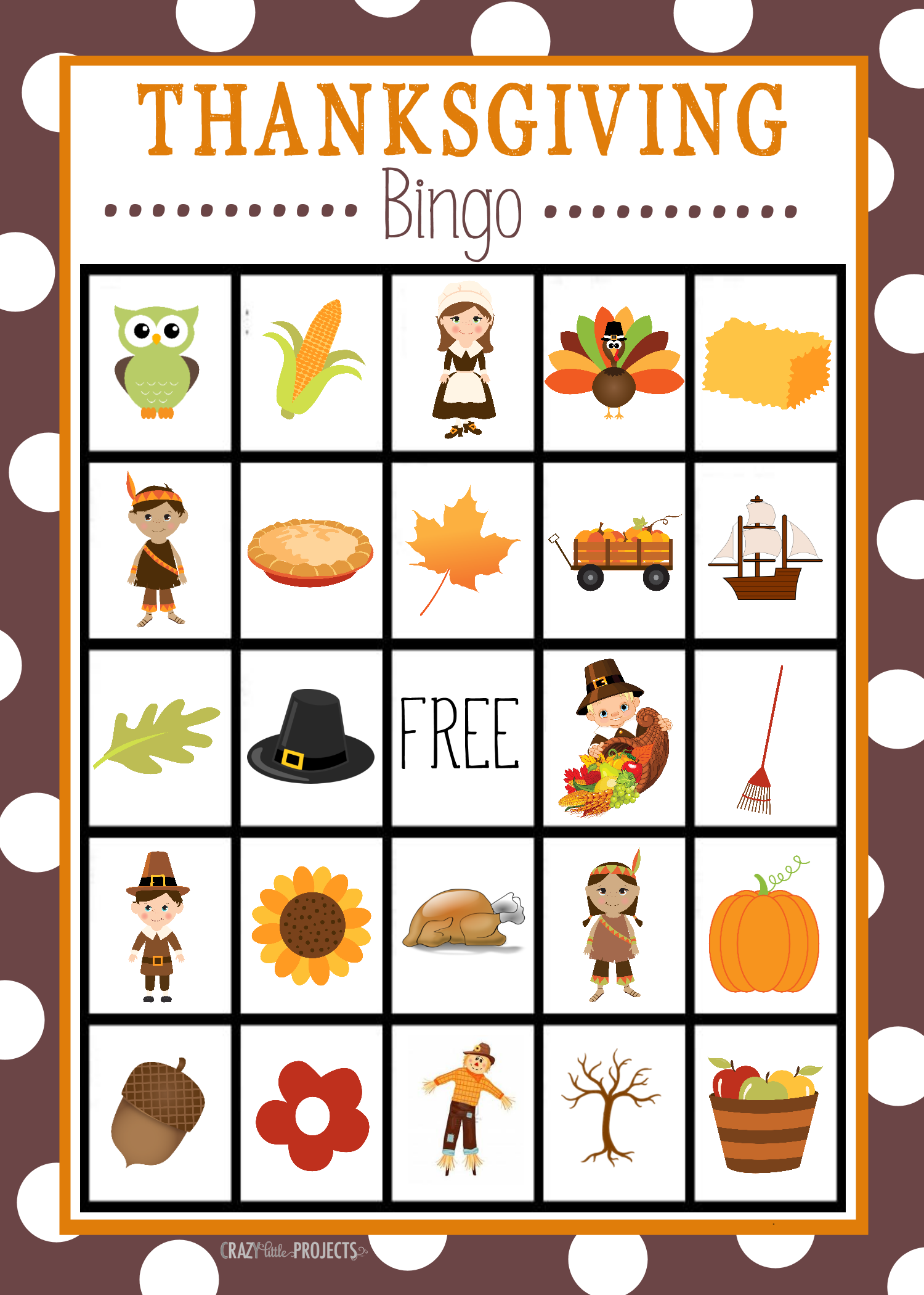 photograph about Thanksgiving Bingo Printable named Thanksgiving 7 days Survival Specialist for the Young children Entertaining For the