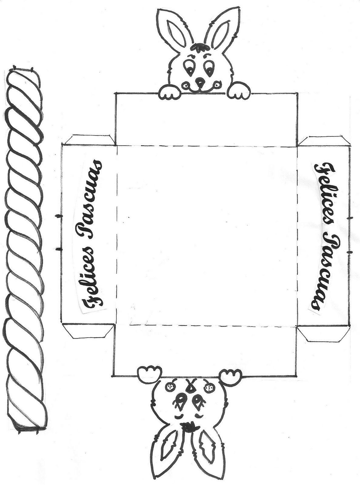 canastas de pascua para colorear Imagen 415 167x225 | Pascua ...