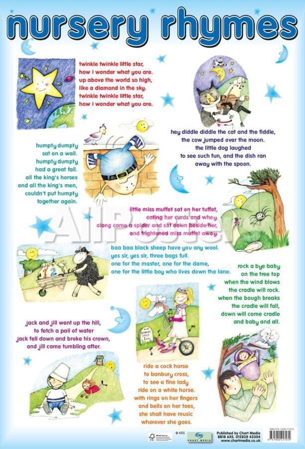 'Nursery Rhymes' Posters  | AllPosters.com