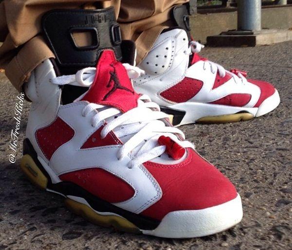 Air Jordan 6 Carmine - Mrfreshkicks  900edfef84