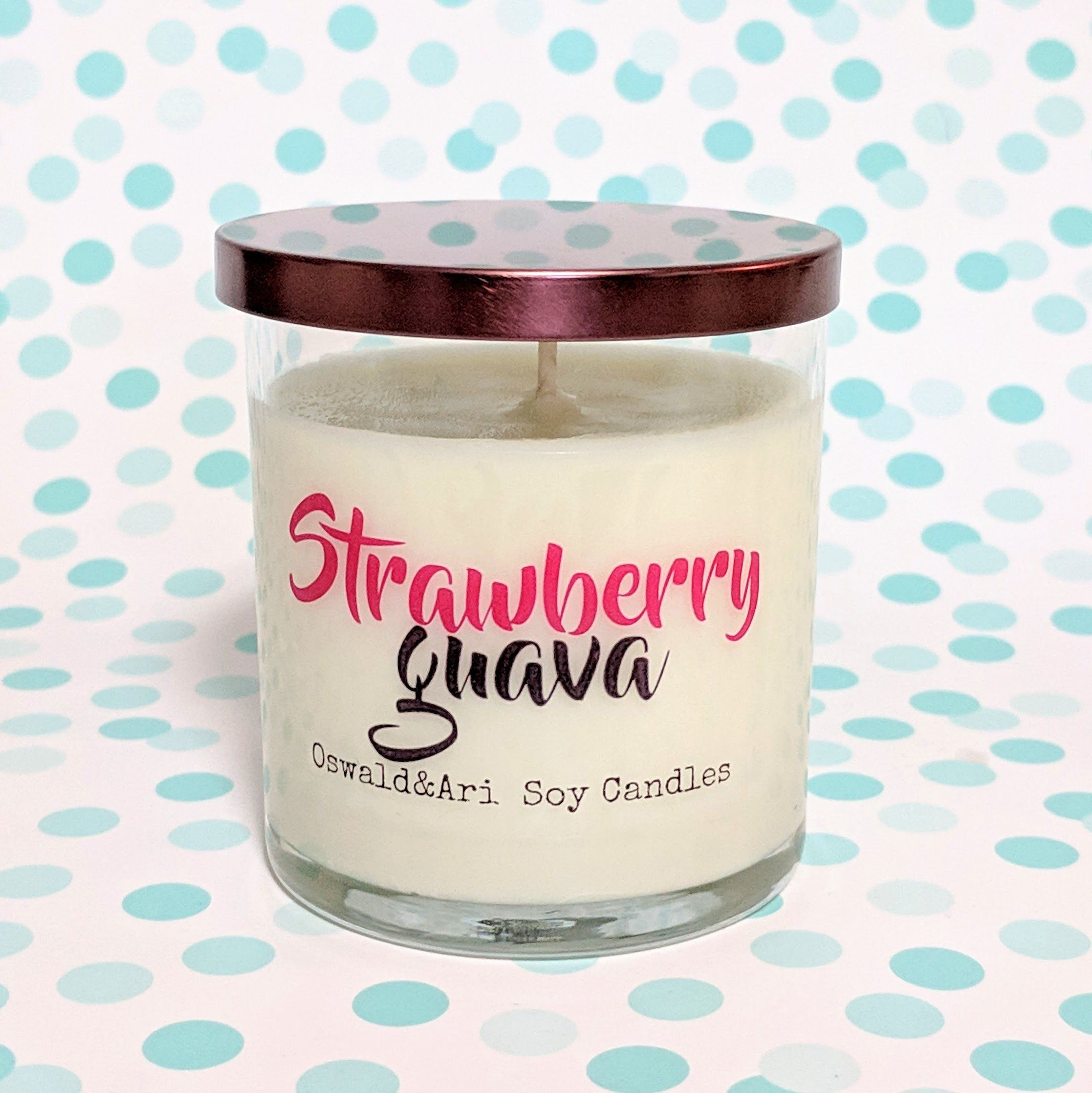 Strawberry Guava Scented Candle