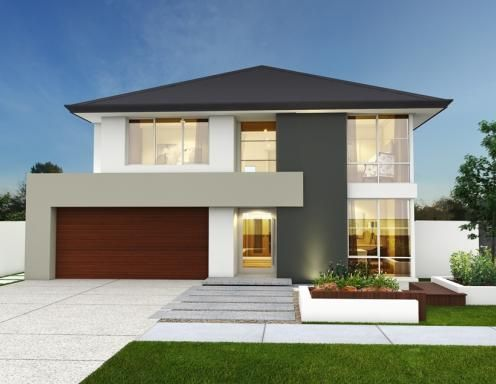 The rochdale 14m wide two storey home design front yard pinterest
