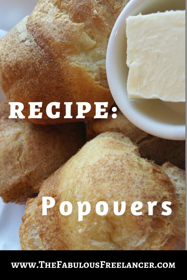 How To Make Popovers Foodie Recipes Recipes Homemade Recipes
