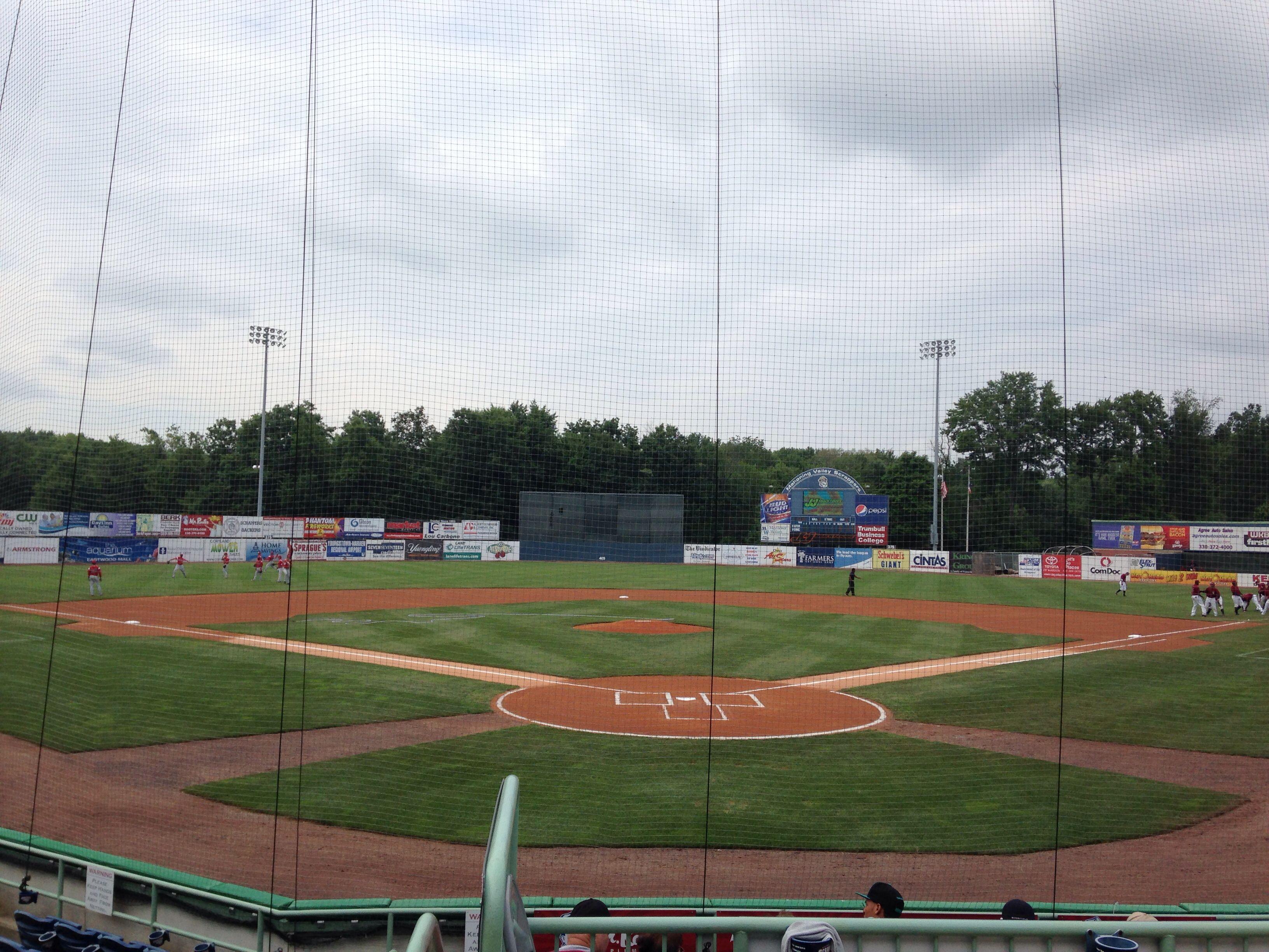 Mahoning Valley Scrappers Eastwood Field Baseball Park Baseball Stadium Minor League Baseball