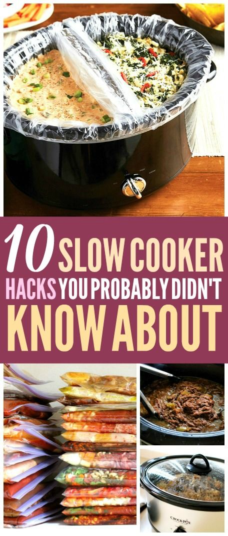 10 Slow Cooker Hacks That'll Save You So Much Time