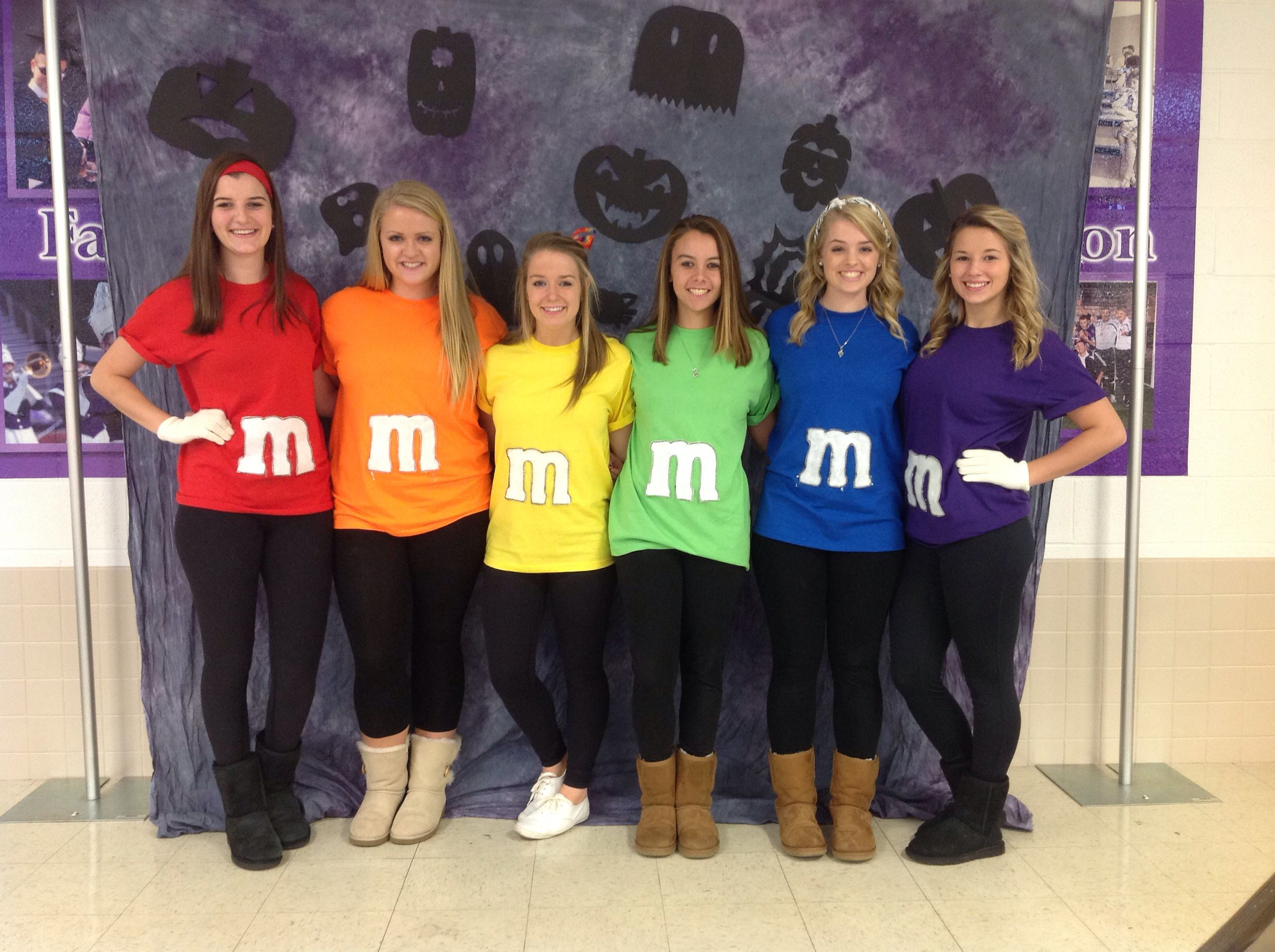 Costume Ideas For Groups - M m s for this years halloween costume diy teenhalloween costume