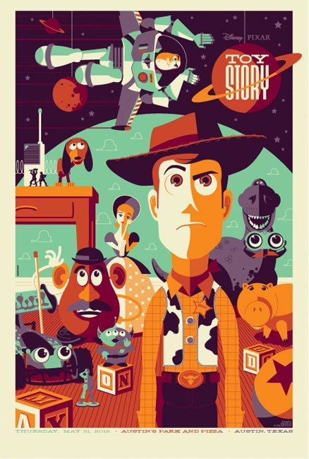 toy story vector poster vectores pinterest tom whalen and