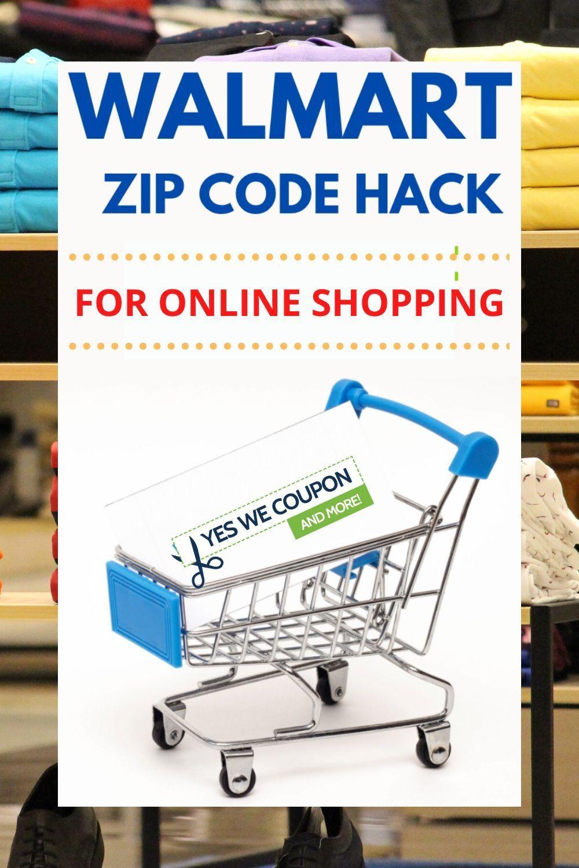 Walmart Zip Code Hack For Online Shopping Walmart Online Walmart Clearance Walmart