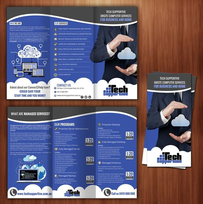 Create A Managed Services Brochure For A Small It Firm By The