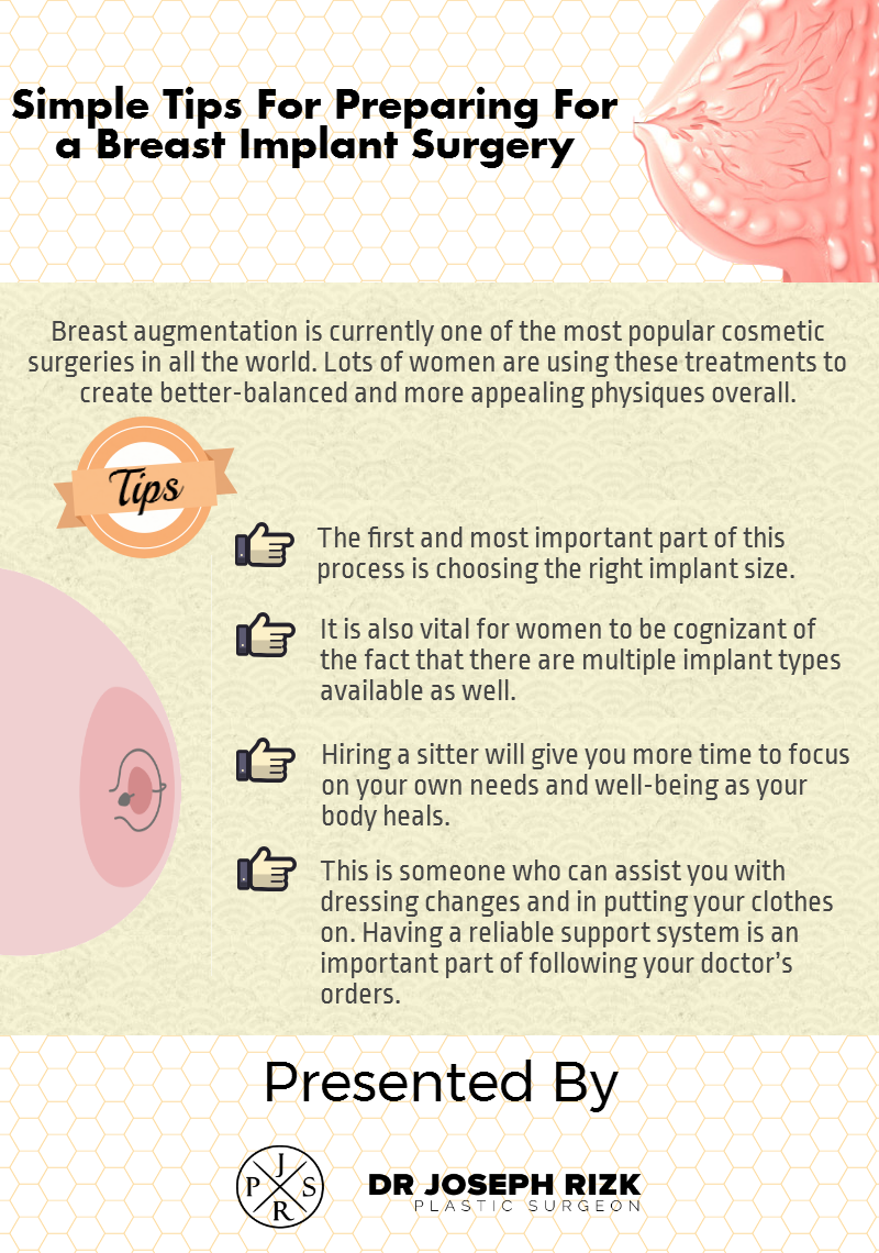 3b5b6607ce There are several things need to do before breast implant surgery. Pay a  look at this info-graphic and read the tips for preparing for a breast  implant ...