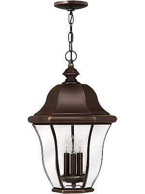Lights · monticello hanging entry light in copper bronze house of antique hardware