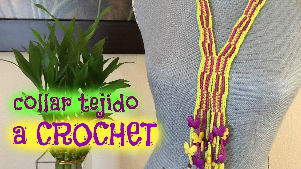Collar a Crochet/Ganchillo
