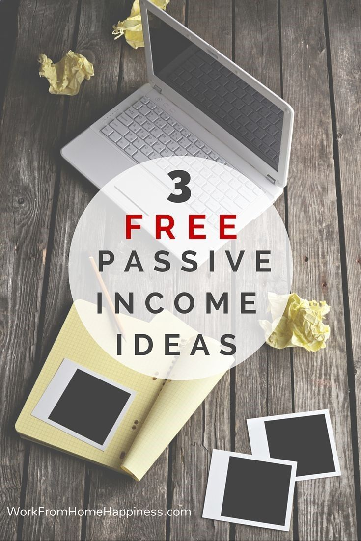 Passive Income - Ready to start earning money any time, day or night ...