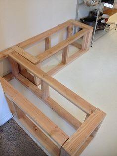 Kitchen banquette measurements   diy kitchen frame for kitchen nook on