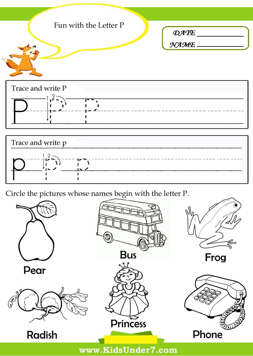 Free Alphabet Tracing Pages Preschool Alphabet Tracing Printable – Letter P Worksheets