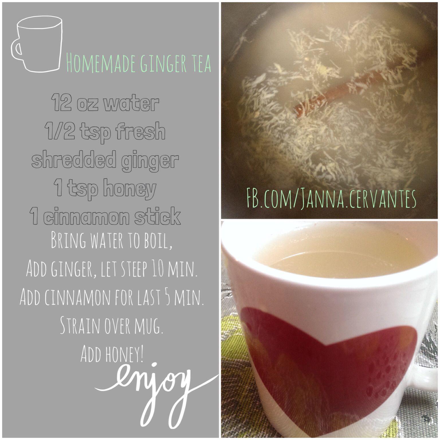 Homemade Ginger Tea #healingtea #digestion #indigestion #gingertea #ginger #foodasmedicine
