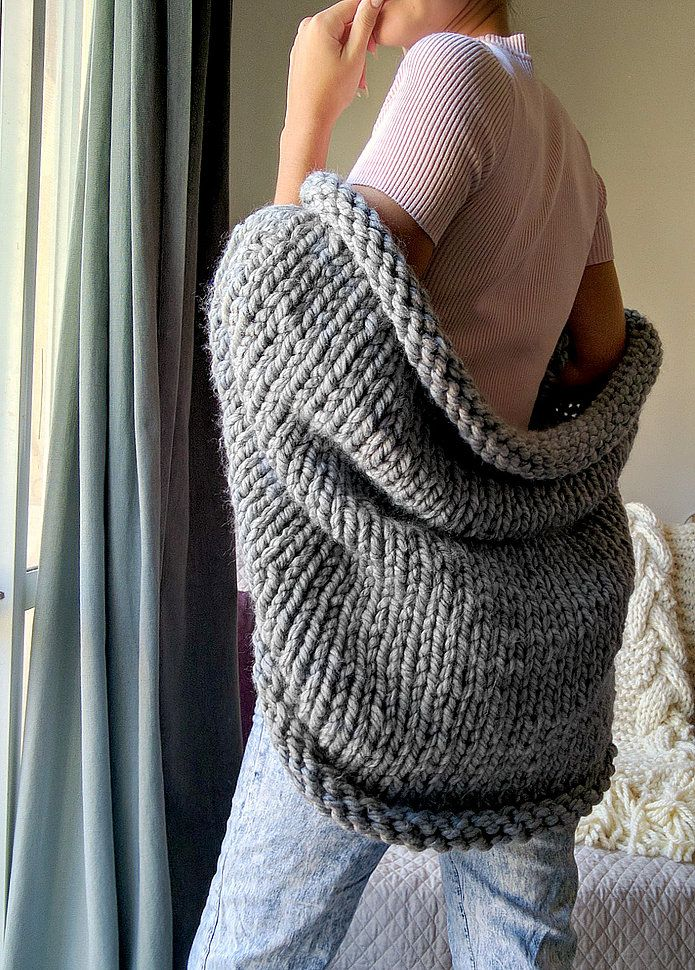 Super chunky slouchy shrug   I\'m knitting!   Pinterest   Shrug ...