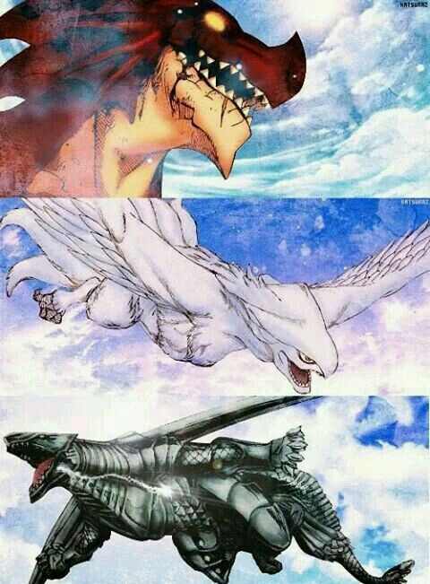 Ignir, Grandine and Metallicana | Fairy tail dragon slayer ...