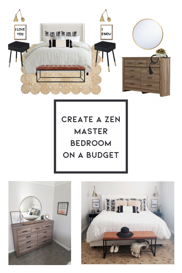 Create A Zen Master Bedroom On A Budget Shop This Bedroom