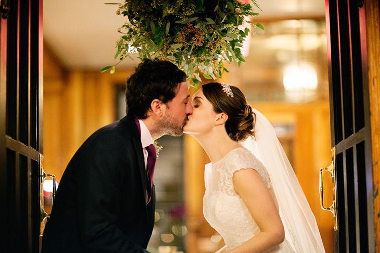 Festive Christmas Romantic Rich Tones Floral Classic Wedding