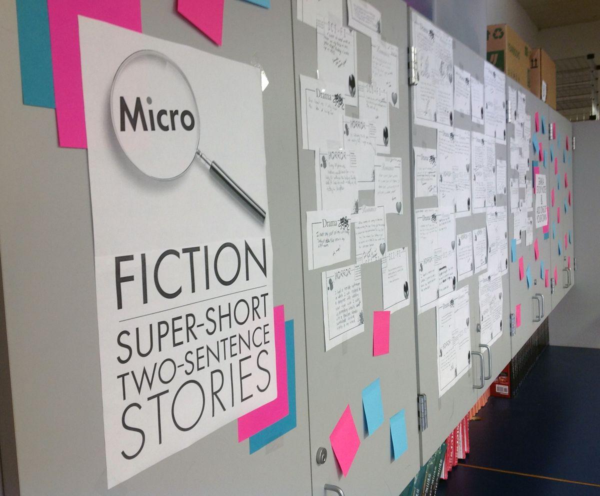 interactive creative writing bulletin board idea for main library rh pinterest com