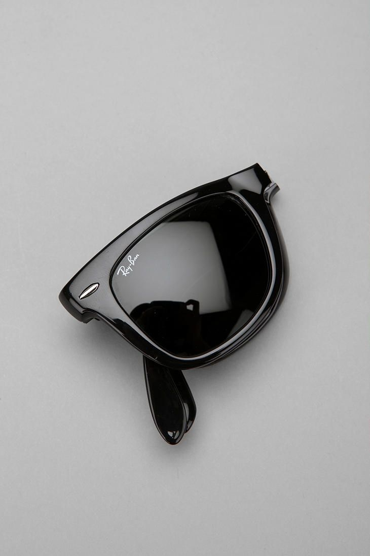 fd778e30a2e22 Rayban Folding Wayfarer   155.  Sunglasses  Rayban Wayfarer Yah. I own  these. I m cool like that...Or maybe I just have a generous big brother  )