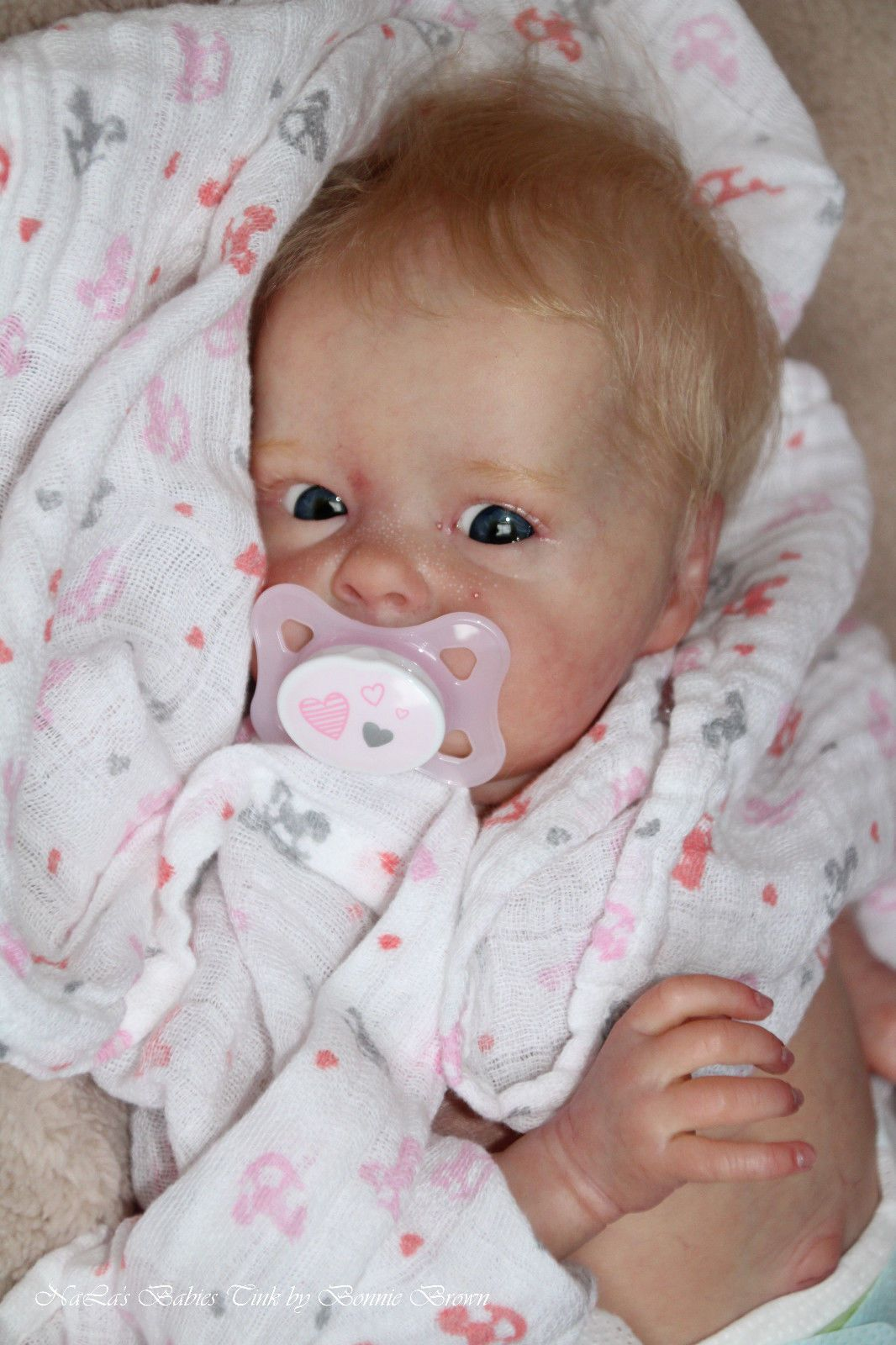Reborn Baby Girl Tink By Bonnie Brown Baby Dolls Reborn Baby