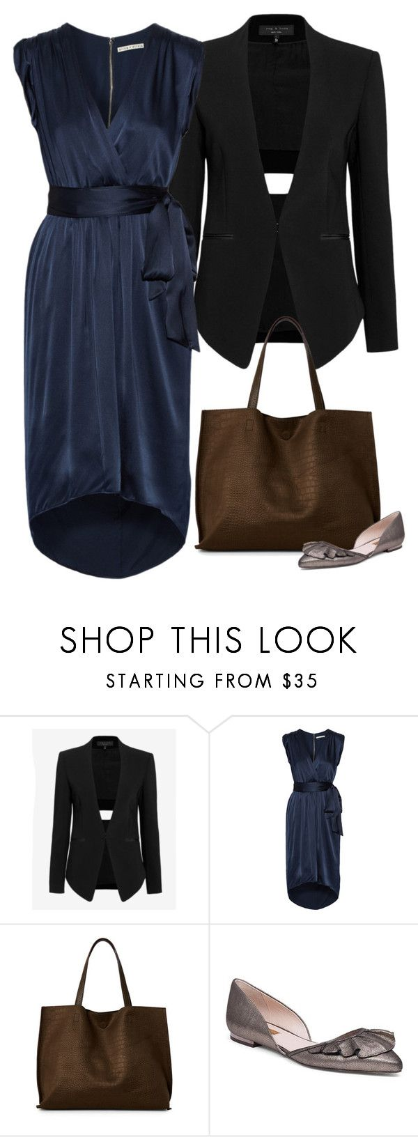 """""""On the international stage"""" by brooklynbeatz ❤ liked on Polyvore featuring rag & bone, Alice + Olivia, Street Level, Louise et Cie, WorkWear and workoutfit"""