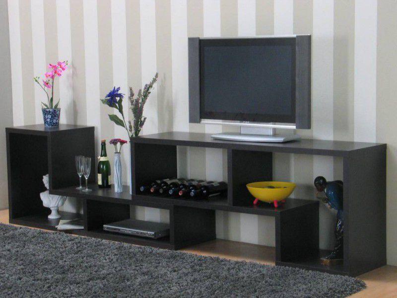 Jahnke Tv Meubel : Tvilum tv meubel open zwartbruin cm flexo online kopen