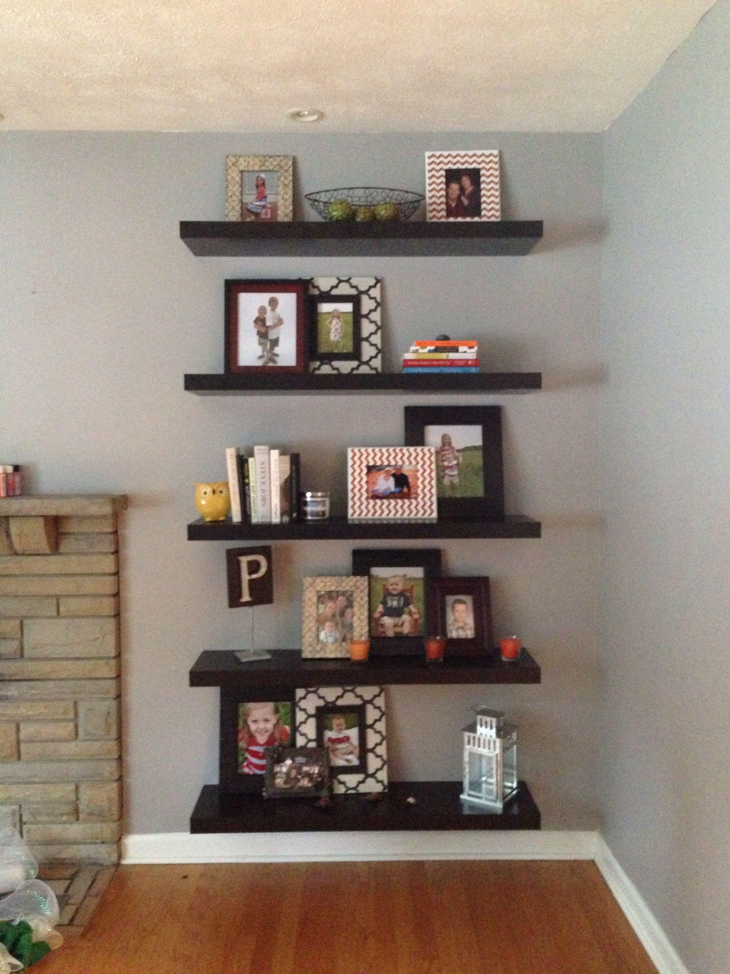 floating shelves my creations pinterest floating shelves rh pinterest com