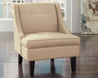 clarinda accent chair by ashley homestore white products in 2019 rh pinterest com