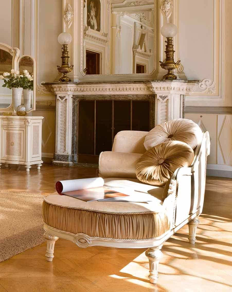 Dormeuse chaise longue mobili per la zona notte classica for Mobili zona notte