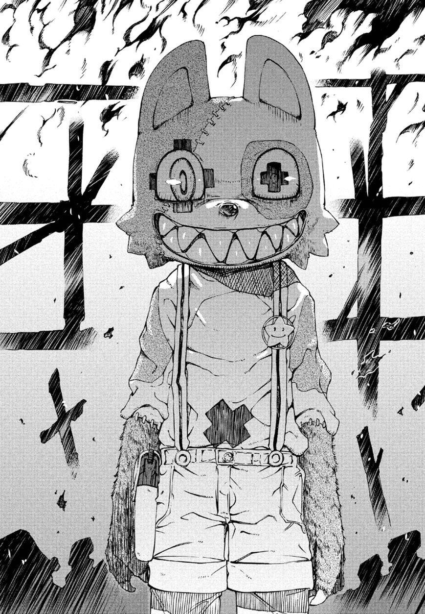 Gleipnir 1 Page 28 Anime art, Anime drawings, Horror art