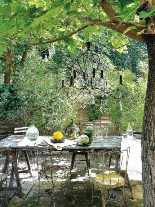 Refined French Backyard Garden Decor Ideas