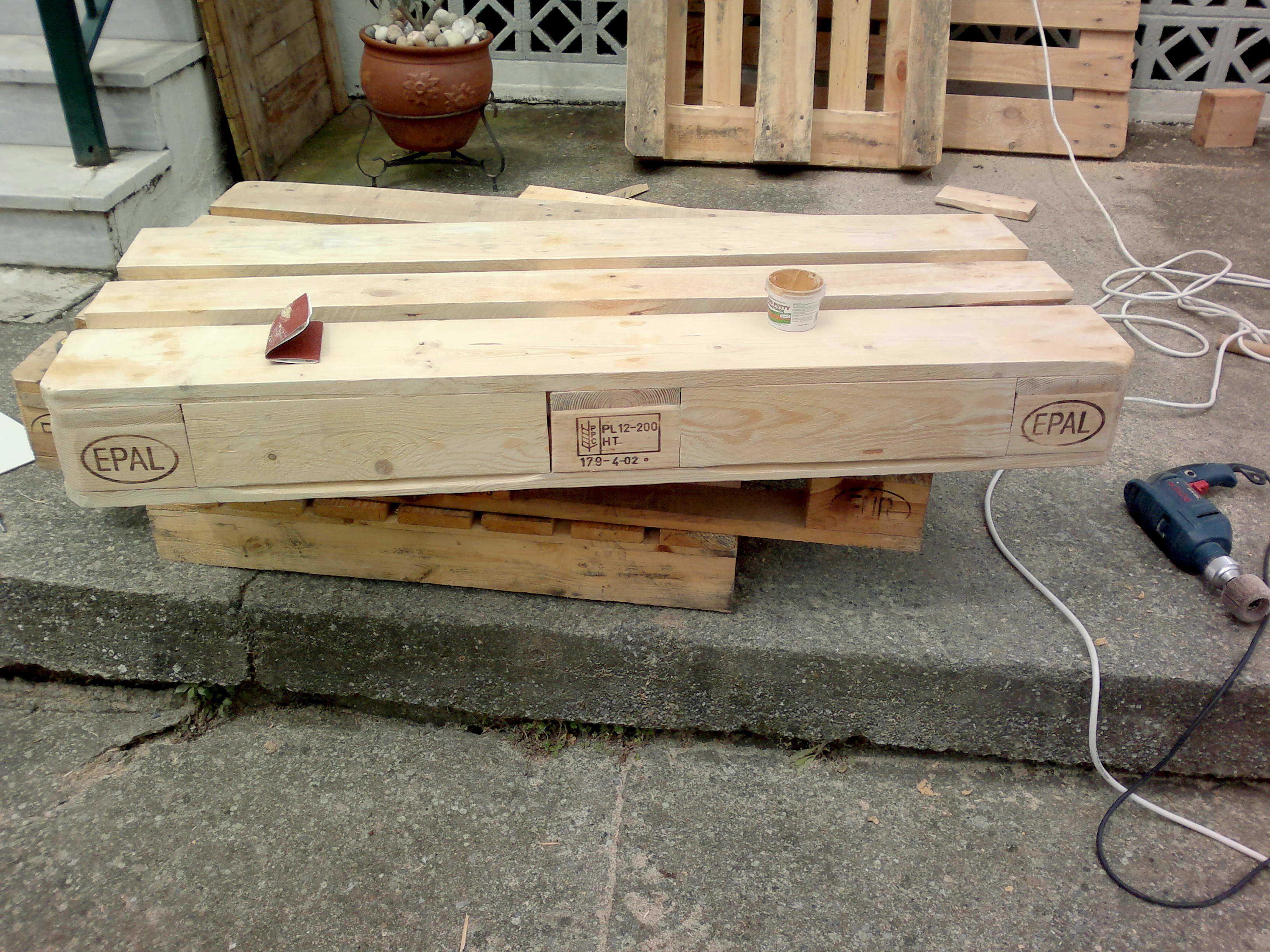 Sedie Pallet ~ Pallet garden chair with drawers u pallet ideas giardini sedie