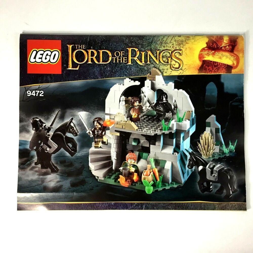 Details About Lego Instruction Manual Only Lord Of The Rings 9469