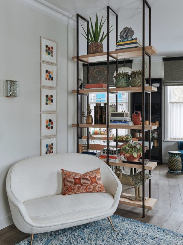 An eclectic townhome in Notting Hill