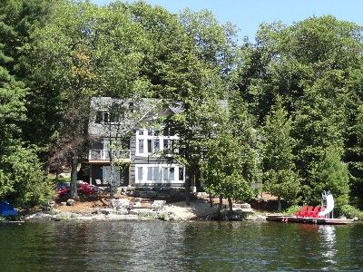 vrbo com 348254 muskoka beach house s w exposure on lake rh pinterest com