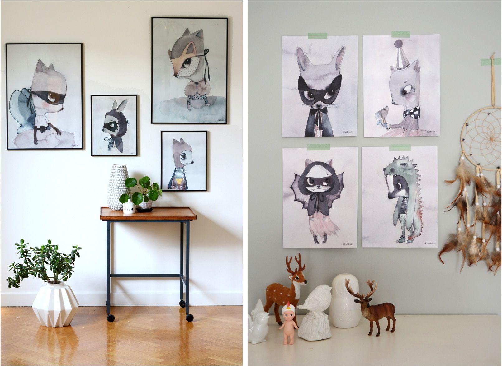55 Kids Room Artwork Ideas to