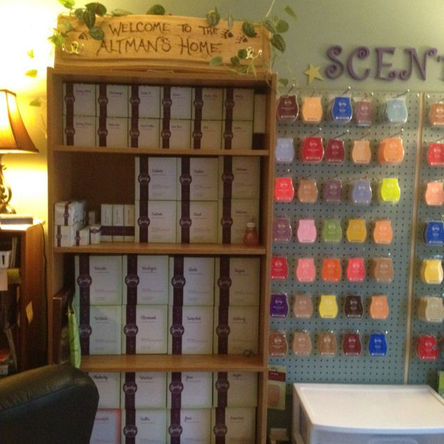 10 Helpful Home Office Storage And Organizing Ideas: Organize Scentsy Warmers And Bars And Much More