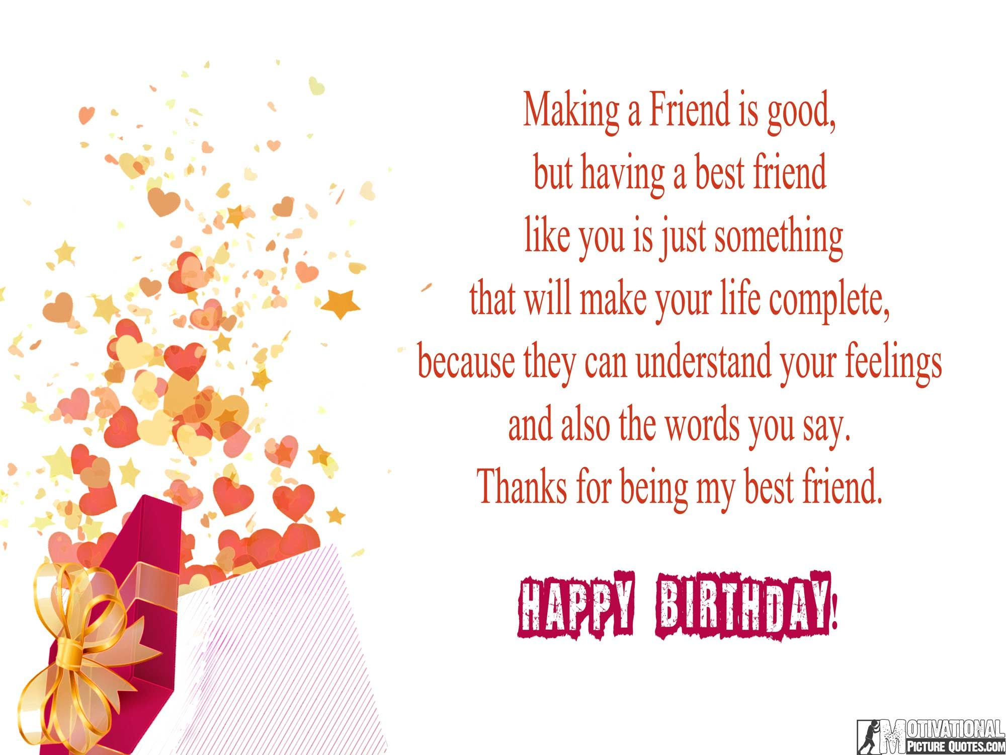 Birthday message for friend birthday wishes quotes images birthday message for friend kristyandbryce Choice Image
