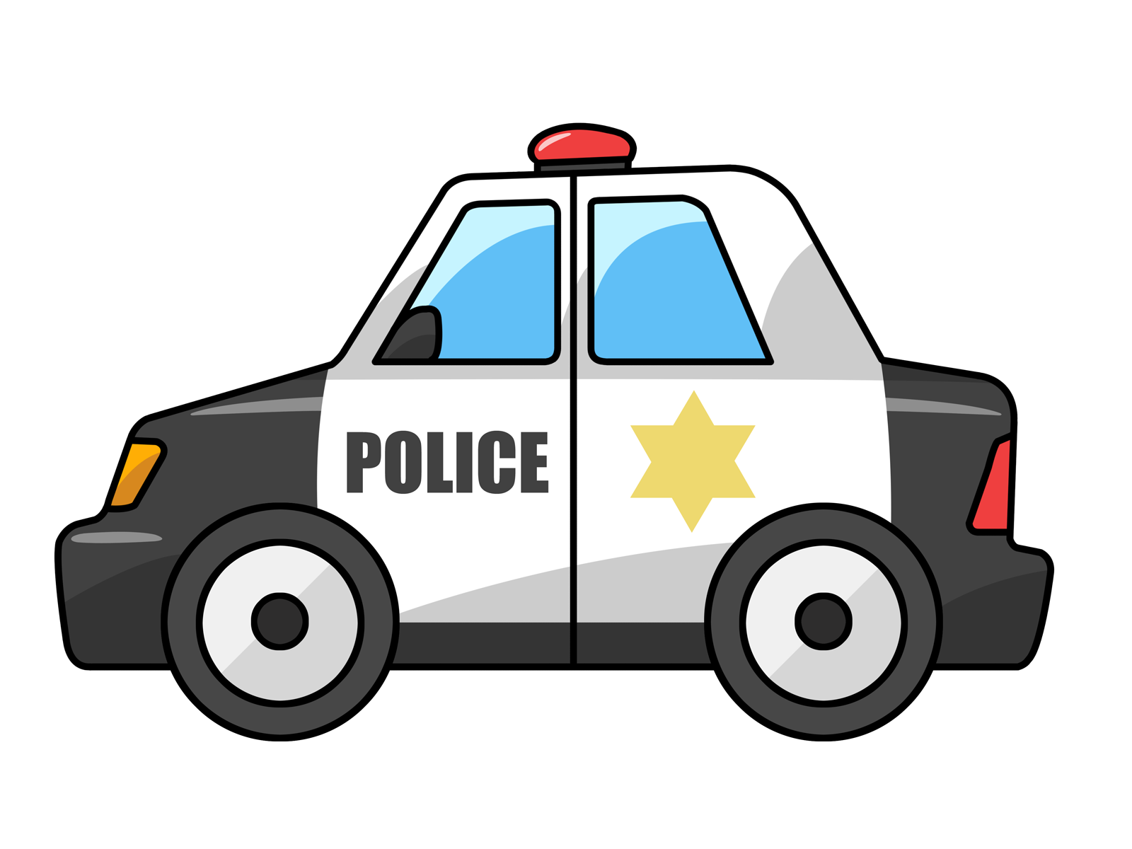 Free To Use Public Domain Police Car Clip Art Clipart Best Clipart Best Color Black Silver Blue