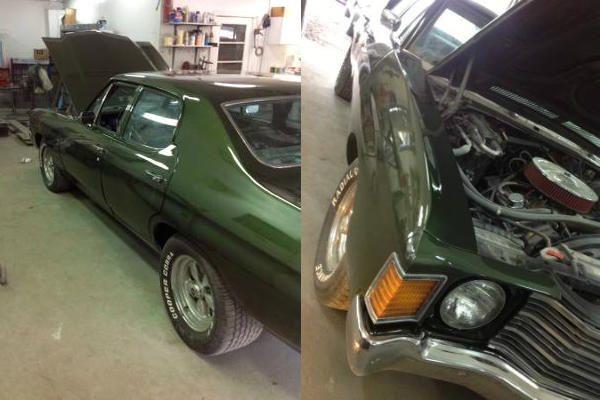 1972 Chevelle: Fast Looking 4-Door - http://barnfinds.com/1972-chevelle-fast-looking-4-door/