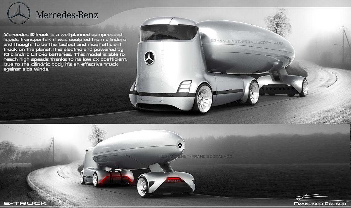 Mercedes Benz E Truck On Behance