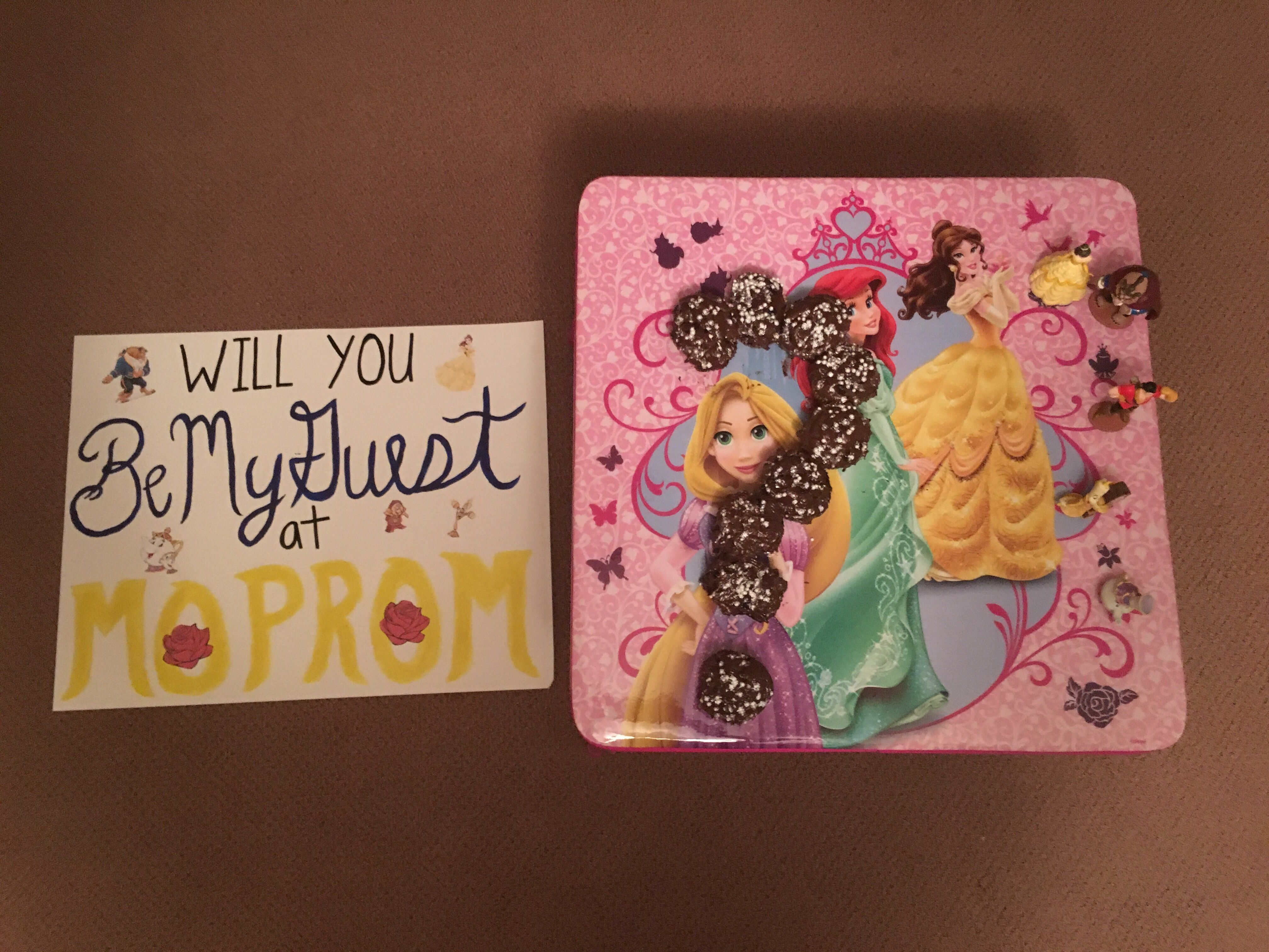 Beauty And The Beast Mormon Prom Promposal By @qtjen3