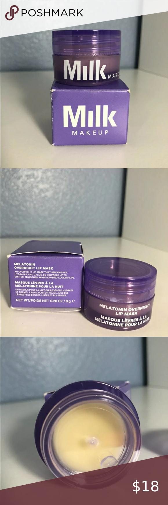 MILK MAKEUP Melatonin Overnight Lip Mask NWT in 2020