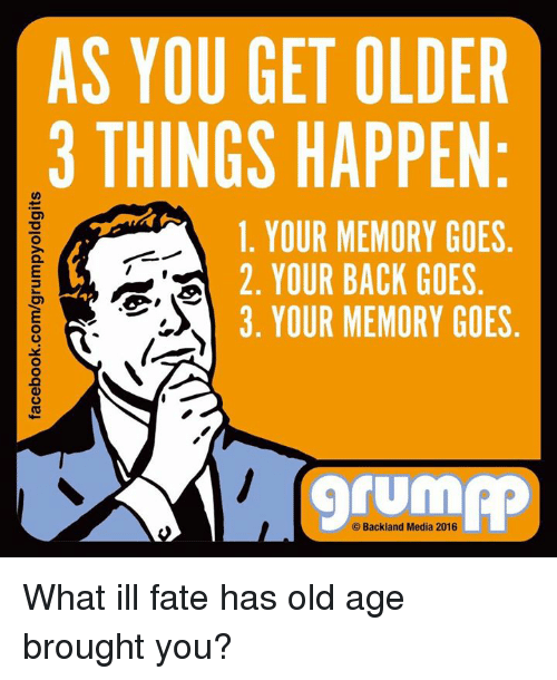 Youre Getting Old Meme
